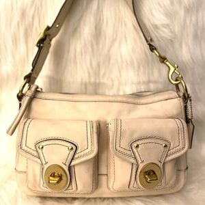 Coach Legacy Vachetta Leather Shoulder Bag
